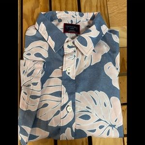- UNTUCKit Floral Short Sleeve Button Down